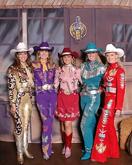 Dallas Cowgirls At Your Dallas Western Party